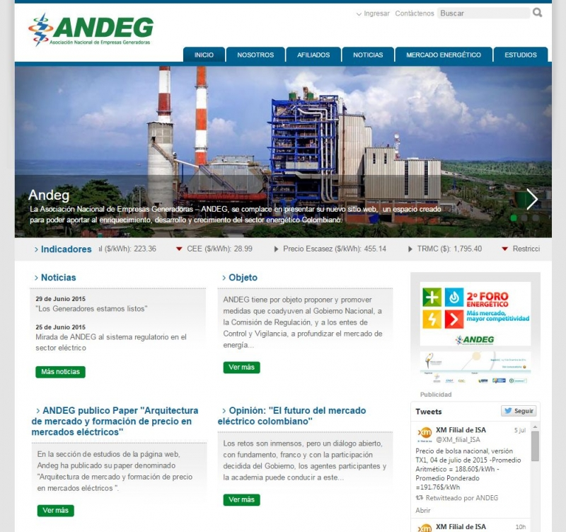 [ANDEG Website - by Zola