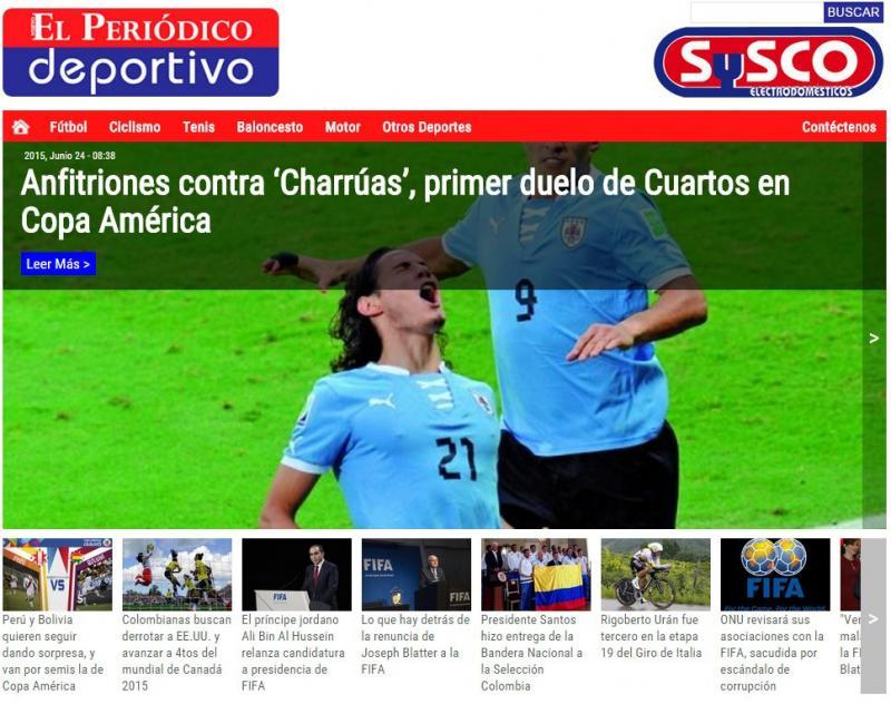 """""""El Periódico Deportivo"""""""