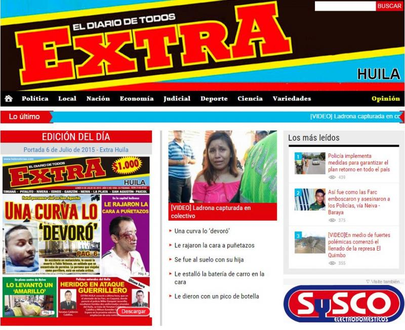 "[Daily News ""Extra"" Websites"